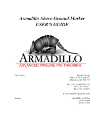 Armadillo AGM Operational Guide