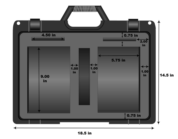 Double Case Specification - Inside View